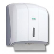 C&V Folded Paper Towel Dispenser Capacity 400 (White)